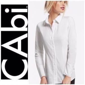 Cabi white button-down  8